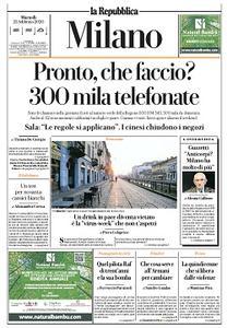 la Repubblica Milano - 25 Febbraio 2020