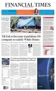 Financial Times Asia - September 16, 2020