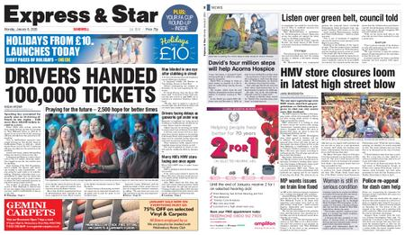 Express and Star Sandwell Edition – January 06, 2020