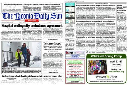 The Laconia Daily Sun – March 14, 2018