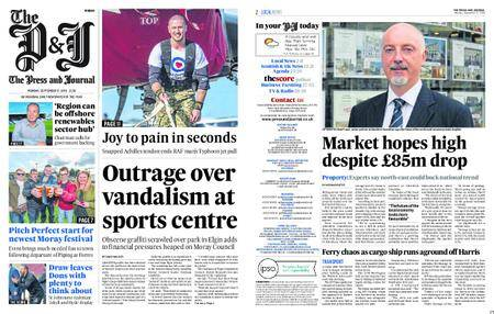 The Press and Journal Moray – September 17, 2018