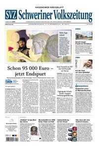 Schweriner Volkszeitung Hagenower Kreisblatt - 15. Dezember 2018