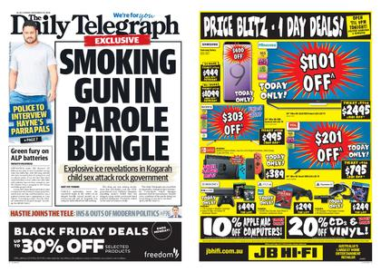 The Daily Telegraph (Sydney) – November 23, 2018