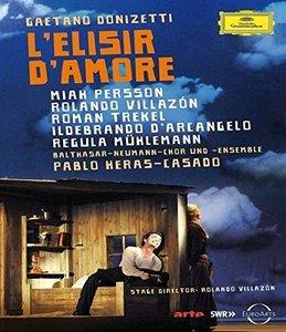 Pablo Heras-Casado, Balthasar-Neumann-Chor und Ensemble - Donizetti: L'Elisir d'Amore (2014) [Blu-Ray]