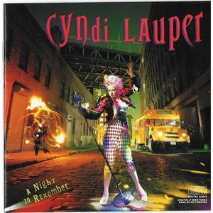 Cyndi Lauper - A Night To Remember (1989)