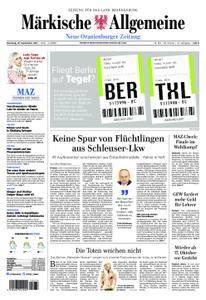 Neue Oranienburger Zeitung - 19. September 2017