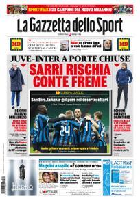 La Gazzetta dello Sport Sicilia – 28 febbraio 2020