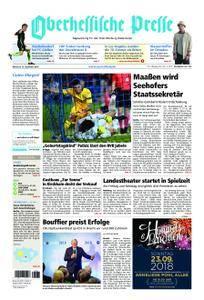 Oberhessische Presse Marburg/Ostkreis - 19. September 2018