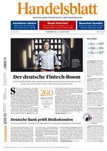 Handelsblatt - 10. Januar 2019