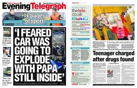 Evening Telegraph First Edition – December 26, 2017