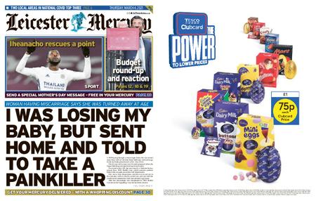 Leicester Mercury – March 04, 2021