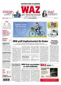 WAZ Westdeutsche Allgemeine Zeitung Oberhausen-Sterkrade - 07. April 2018