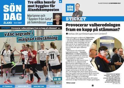 Ålandstidningen – 12 november 2017