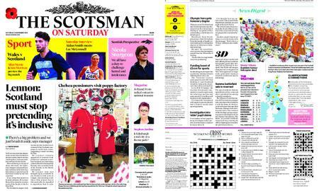 The Scotsman – November 03, 2018