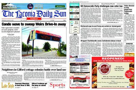 The Laconia Daily Sun – August 24, 2017