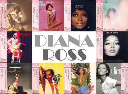 Diana Ross - Motown Albums 1970-1980 (10CD) Japanese Mini-LP SHM-CD Remastered Reissue 2012 [Re-Up]