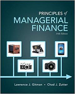 Principles of Managerial Finance (14th Edition)