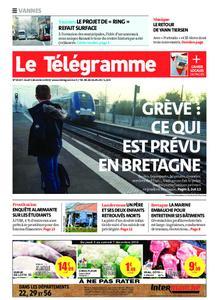 Le Télégramme Vannes – 05 décembre 2019