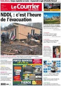 Le Courrier de l'Ouest Angers - 09 avril 2018