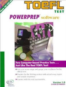 Toefl Powerprep Software: Version 1.0 for Windows (CD-ROM)