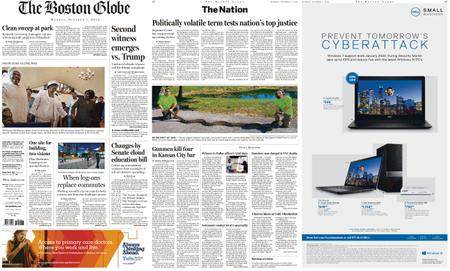 The Boston Globe – October 07, 2019