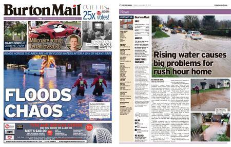 Burton Mail – November 15, 2019