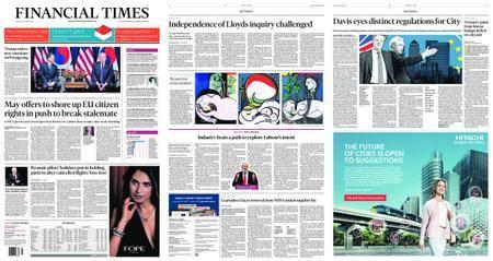 Financial Times UK – September 22, 2017