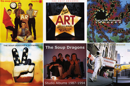The Soup Dragons - Albums Collection 1987-1994 (5CD) [Re-Up]