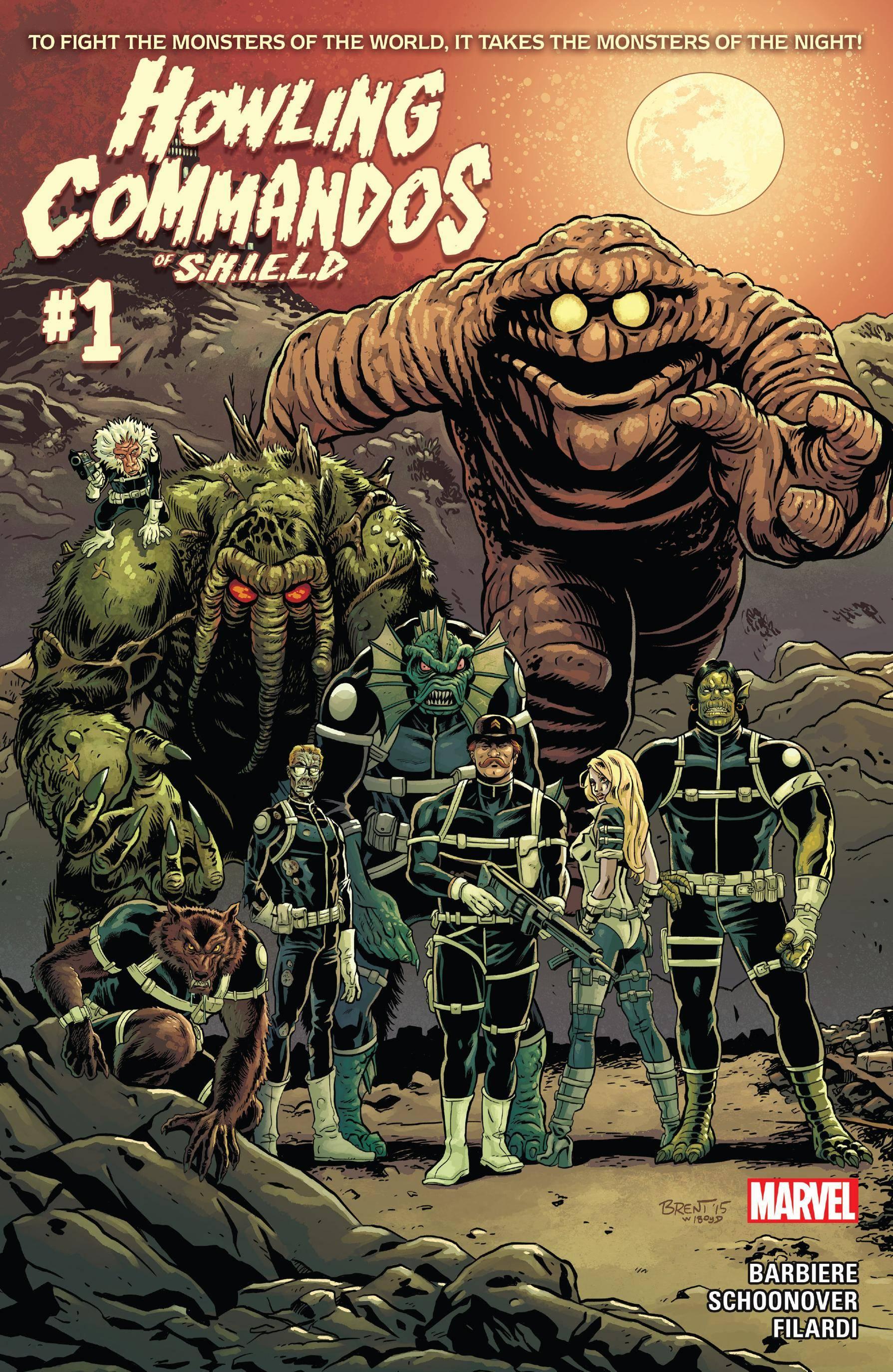 Howling Commandos Of S H I E L D 0012015 2 covers Digi
