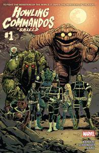 Howling Commandos Of S H I E L D 0012015 2 covers Digi