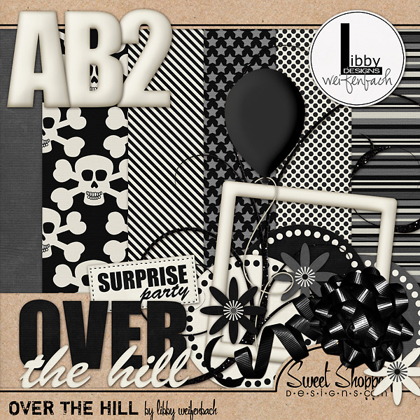 Scrap Kit: Over the Hill