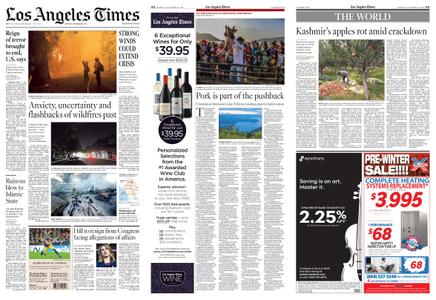 Los Angeles Times – October 28, 2019