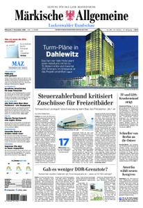 Märkische Allgemeine Luckenwalder Rundschau - 07. November 2018