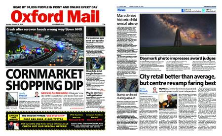 Oxford Mail – October 16, 2018