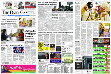 The Daily Gazette – August 25, 2020