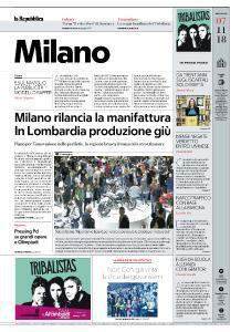la Repubblica Milano - 7 Novembre 2018
