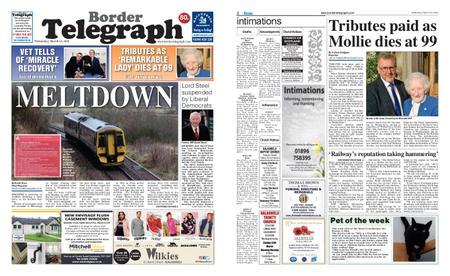 Border Telegraph – March 20, 2019