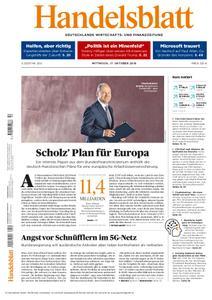 Handelsblatt - 17. Oktober 2018