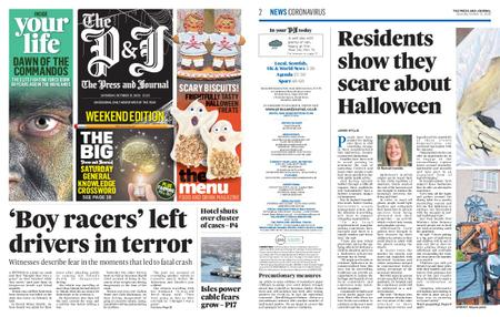 The Press and Journal Moray – October 31, 2020
