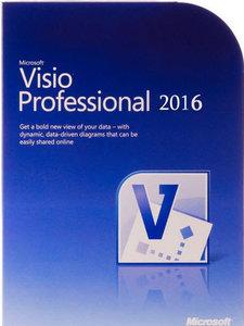 Microsoft Visio Professional 2016 VL v16.0.4312.1000 March 2016