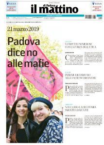 Il Mattino di Padova - 21 Marzo 2019