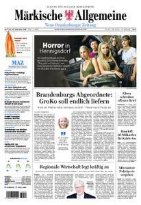 Neue Oranienburger Zeitung - 25. September 2018