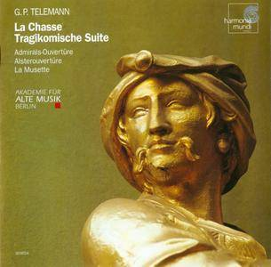 Telemann - La Chasse, Tragikomische Suites - Akademie für Alte Musik Berlin (1999) {Harmonia Mundi, HMC 901654}
