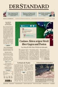 Der Standard – 19. November 2019
