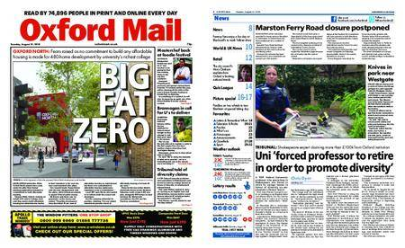 Oxford Mail – August 21, 2018