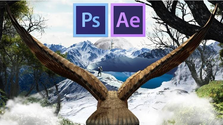 Create and Animate your Photo-Composition in Photoshop & AE
