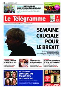 Le Télégramme Concarneau – 09 décembre 2019