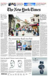 International New York Times - 12 July 2018