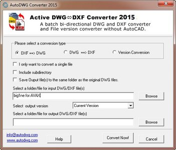 AutoDWG DWG DXF Converter 2015 3 55 / AvaxHome