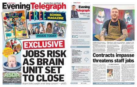 Evening Telegraph First Edition – October 30, 2019